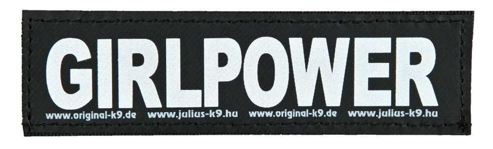 "Julius K9 Etiqueta de Velcro ""Girlpower"" FREIZEITGESTALTER  5999053650766 opiniones"