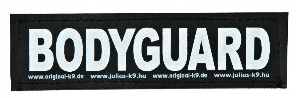 """Julius K9 Etiqueta de Velcro """"Bodyguard"""" FREIZEITGESTALTER"""