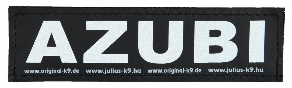 """Julius K9 Velcro Sticker """"Azubi""""  L AZUBI"""