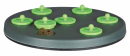 Rabbits Toy Snack Board Green