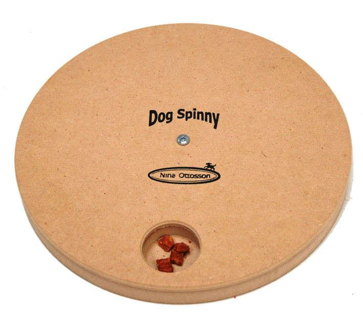 Nina Ottosson Dog Spinny Hout Lichtbruin 23 kg met korting aantrekkelijk en goedkoop kopen