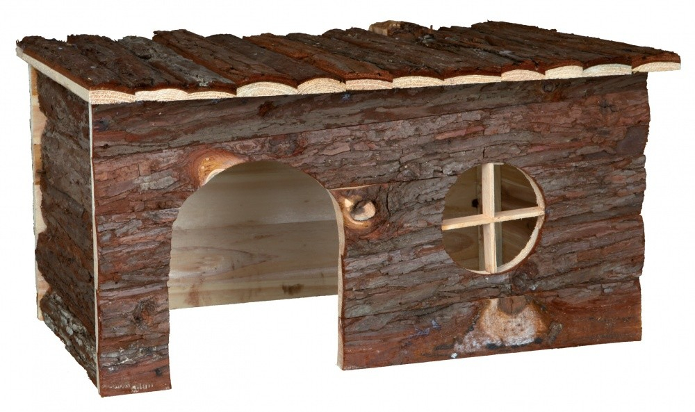 Trixie Natural Living Huisje Jerrik  40x20x23 cm Donker bruin