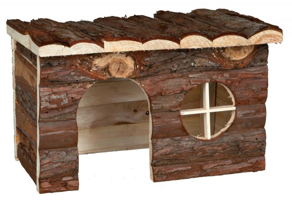 Trixie Natural Living Huisje Jerrik  28x16x18 cm Donker bruin