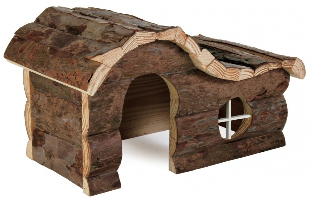 Trixie Natural Living Huis Hanna  Donker bruin 26x16x15 cm