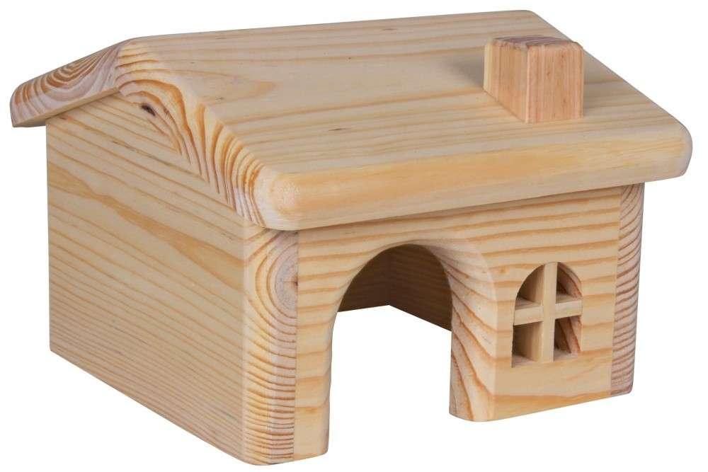 Trixie Houten Huis voor muizen, hamsters 15×11×15 cm met korting aantrekkelijk en goedkoop kopen