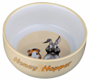 Trixie Honey & Hopper Ceramic Bowl 250 ml