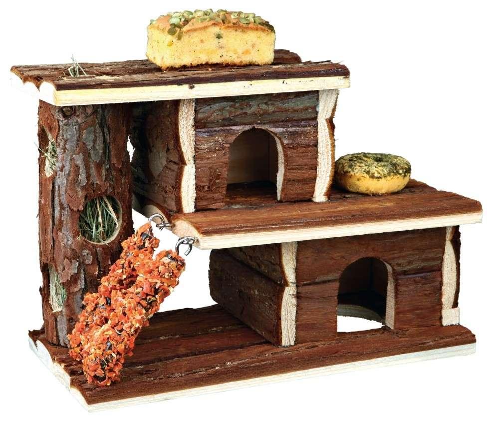 Trixie Villa met snacks en ruwvoer 25×21×12 cm  met korting aantrekkelijk en goedkoop kopen