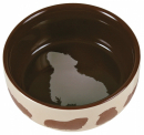 Ceramic Bowl with Motive, Guinea pigs  from Trixie