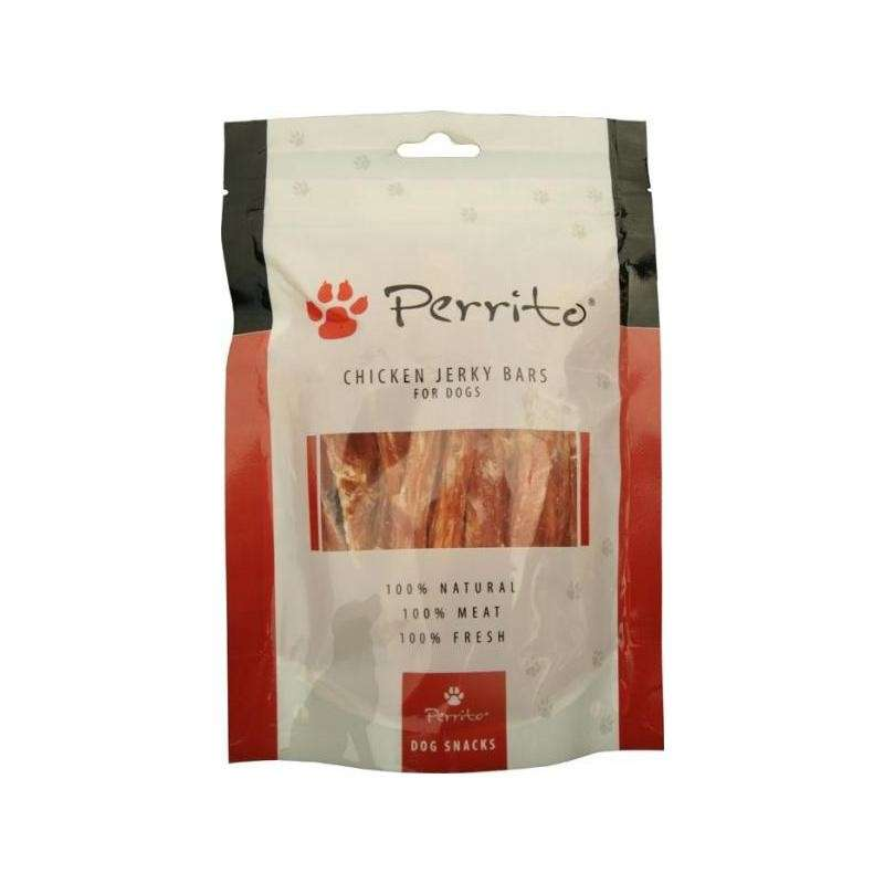 Chicken Jerky Bars from Perrito 100 g buy online