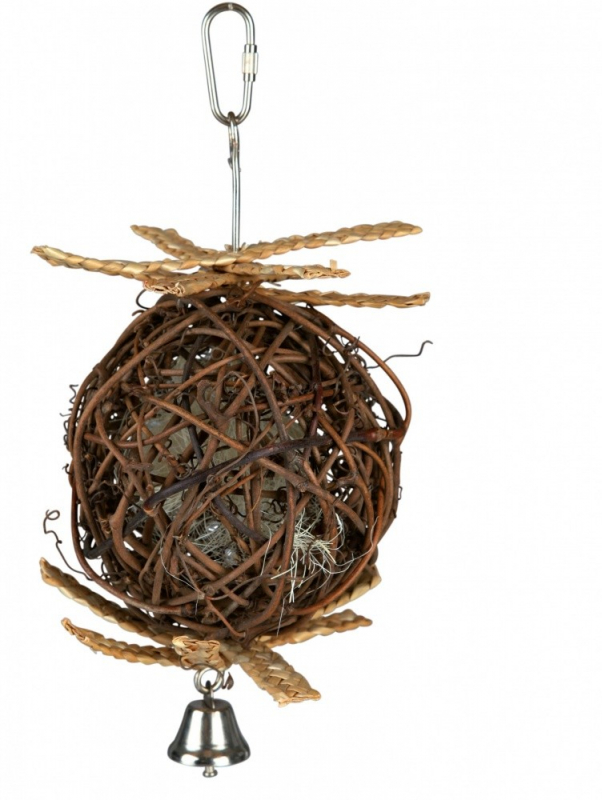 Trixie Natural Living Weidenball mit Glocke  4011905589664 Erfahrungsberichte