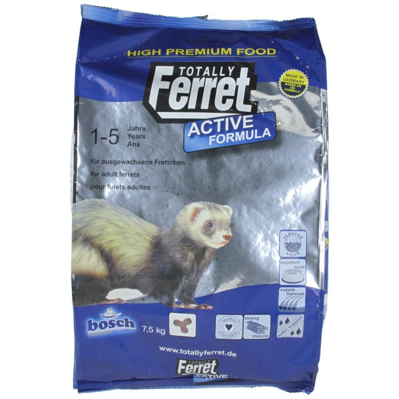 Totally Ferret Active Ferret Food  7.50 kg