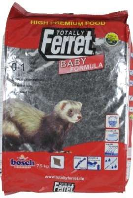 Totally Ferret Food for Ferret Babies  7.5 kg