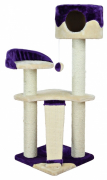 Trixie Carla Scratching Post, Beige/purple 104 cm