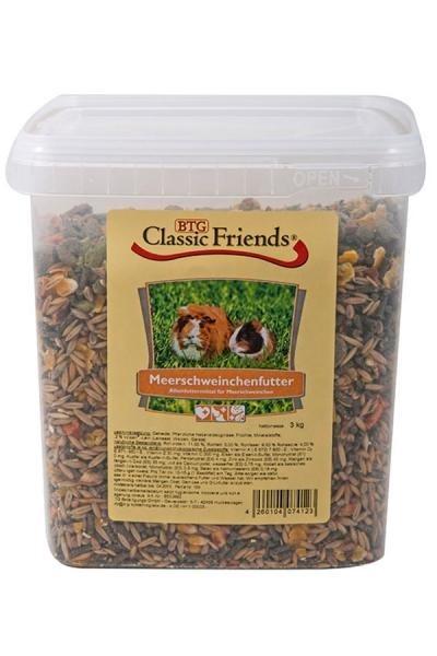 Classic Friends Meerschweinchenfutter 3 kg, 25 kg, 2.5 kg, 1 kg