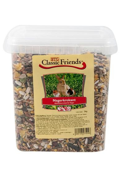 Classic Friends Nagerkrokant Rodent Food 5 kg, 3 kg, 25 kg, 2.5 kg, 1 kg