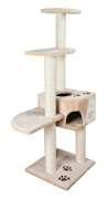 Trixie Poste Rascador Alicante, 142 cm, Beige    Mueble rascador para gatos   comprar de las mejores marcas con bajos precios