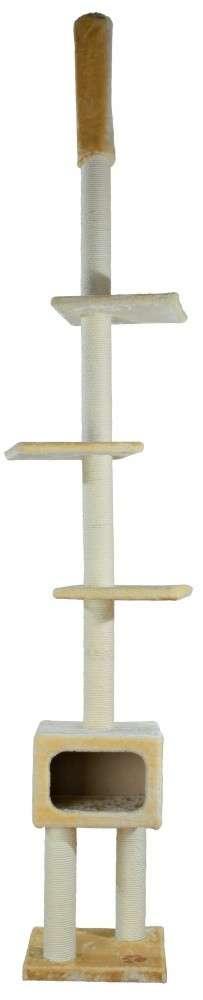 Trixie Poste Rascador Santander Suelo-Techo Beige 245-275 cm