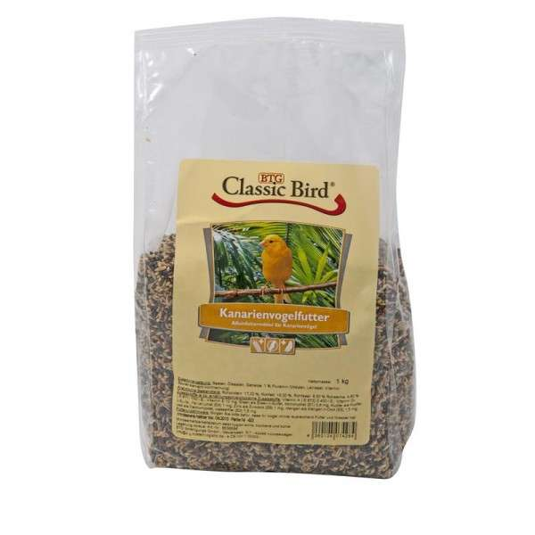 Canaries feed by Classic Bird 1 kg buy online