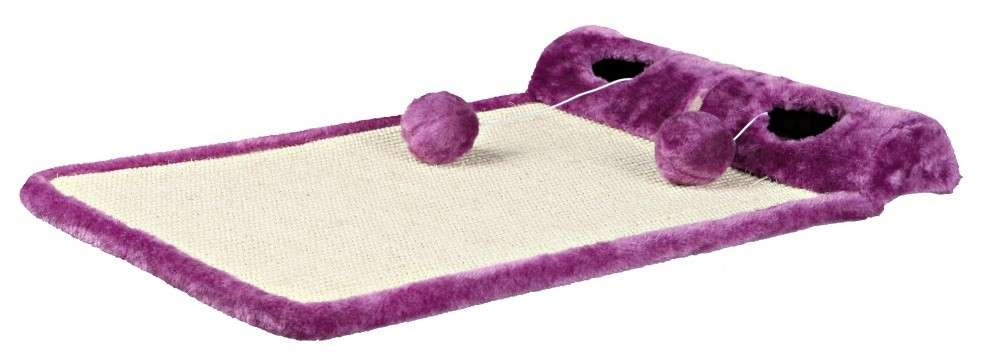 Trixie My Kitty Darling Carpet for Scratching and Playing Violet 59x39 cm