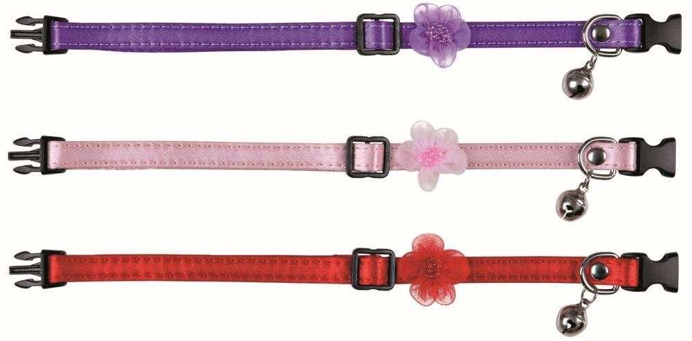 Trixie Collar para Gatos con Flores 30 cm