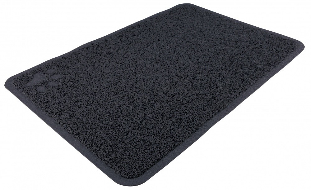 Trixie Litter Tray Mat rectangle  Dark gray 40x60 cm order cheap