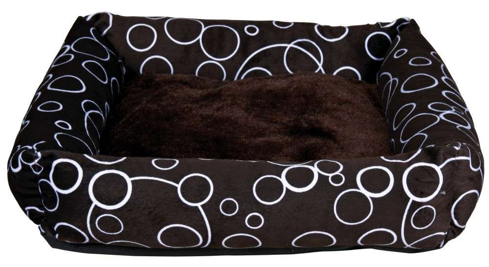 Trixie Hondenbed Marino 55x55 cm Donker bruin met korting aantrekkelijk en goedkoop kopen