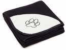 Benny Fleece blanket 150 × 100 cm, black from Trixie