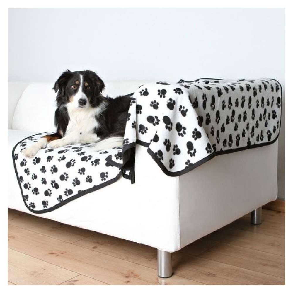 Trixie Beany Hundeteppe 150 cm x 100 cm, hvit   kjøp billig med rabatt