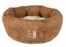 My Kitty Darling Cuddly Bed Light Brown / Cream 50 cm