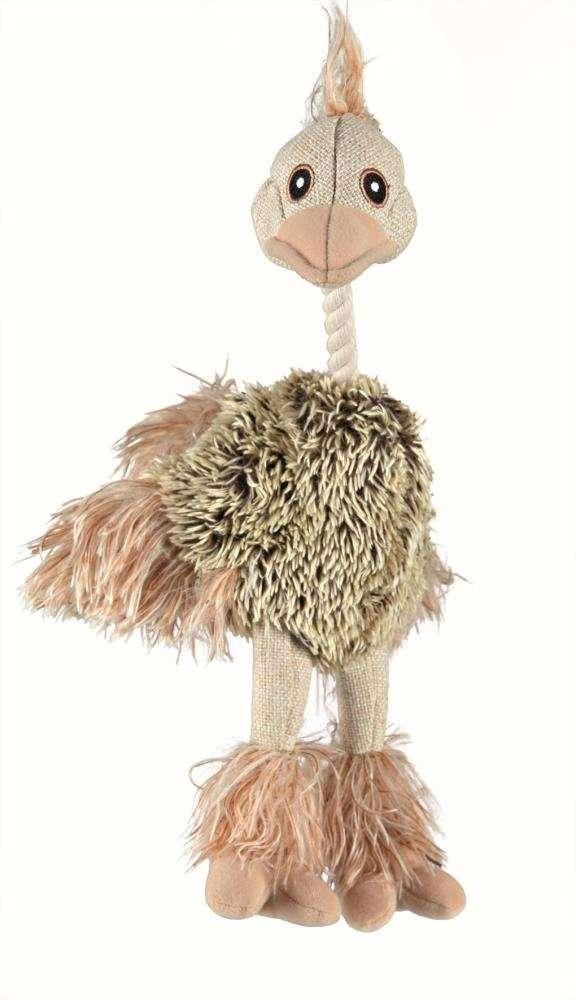 Trixie Struisvogel, Jute / pluche 35 cm  met korting aantrekkelijk en goedkoop kopen