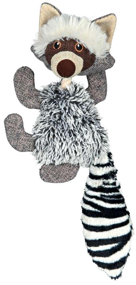 Trixie Wasbeer met geluid, Pluche 41 cm  met korting aantrekkelijk en goedkoop kopen
