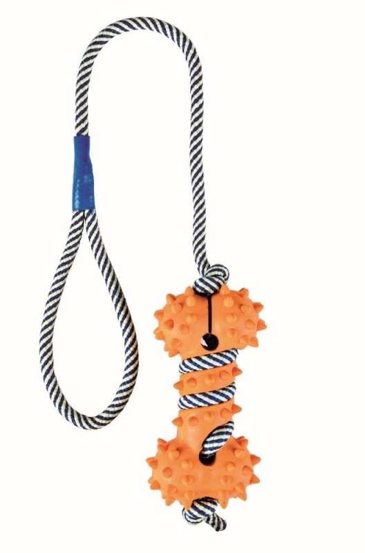 Trixie Jouet sur corde phosphorescente Bone