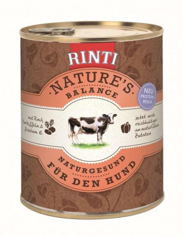 Rinti Natures Balance Rund & Aardappel 400 g