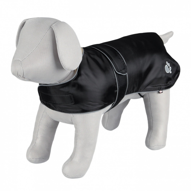 Dog coats & Jackets Coat Orléans Black 55-75x55 cm by Trixie Buy fair and favorable with a discount