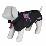 Trixie Avallon Coat Splish Splash -  Black/Pink 55 cm