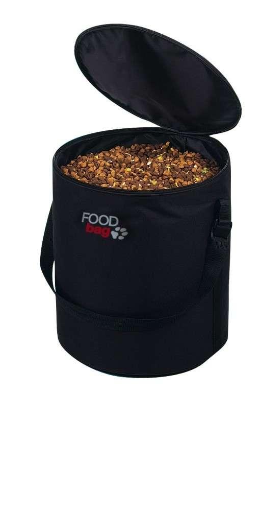 Trixie Foodbag, noir ø29/35  cm