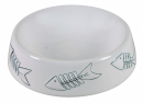 Trixie Ceramic Bowl with Fish Pattern 250 ml
