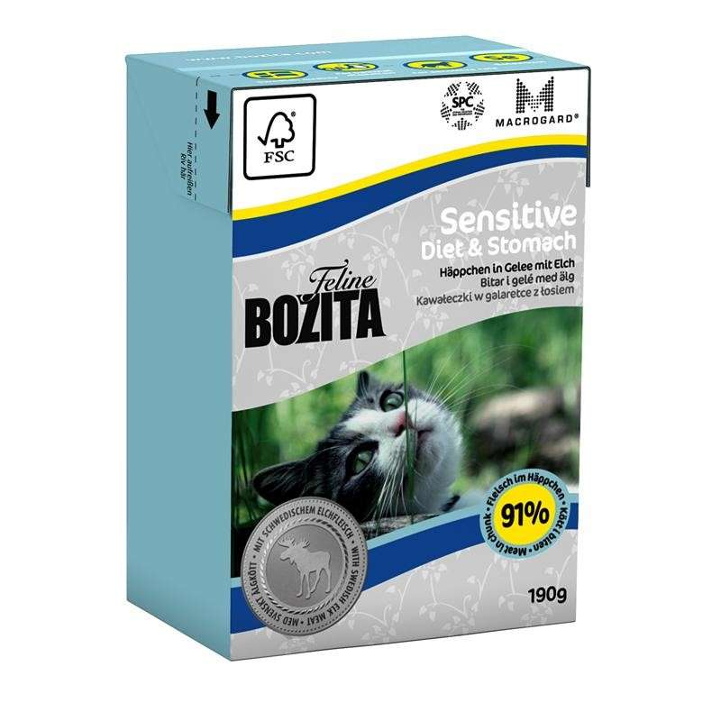 Bozita Feline Sensitive Diet & Stomach 190 g