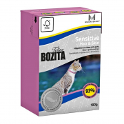 Bozita Cat Tetra Recard Hair & Skin - Sensitive 190 g