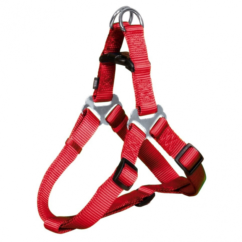 Premium One Touch Harness Red L from Trixie