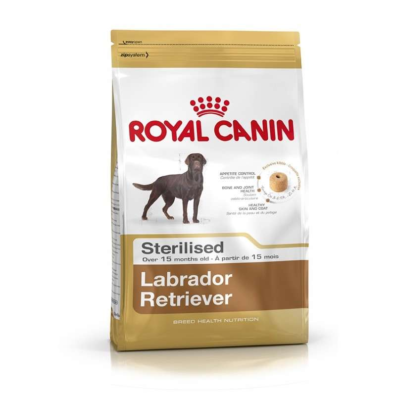 Royal Canin Breed Health Nutrition Labrador Retriever Sterilised 12 kg 3182550787581 erfaringer