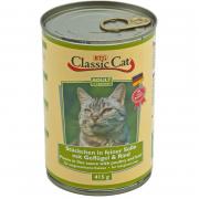 Classic Cat Sauce with Poultry & Beef 415 g