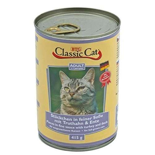 Classic Cat Sauce with Turkey & Duck 415 g 4260104074765 anmeldelser