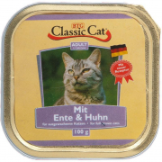 Classic Cat Duck & Chicken 100 g