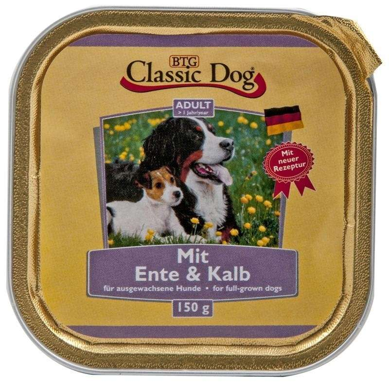 Classic Dog Bowl Duck & Veal 150 g