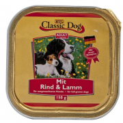 Classic Dog Bowl Beef & Lamb 150 g