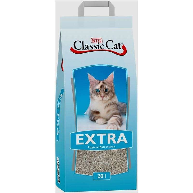 Litter Extra Attapulgite 20 l  från Classic Cat köp billiga på nätet