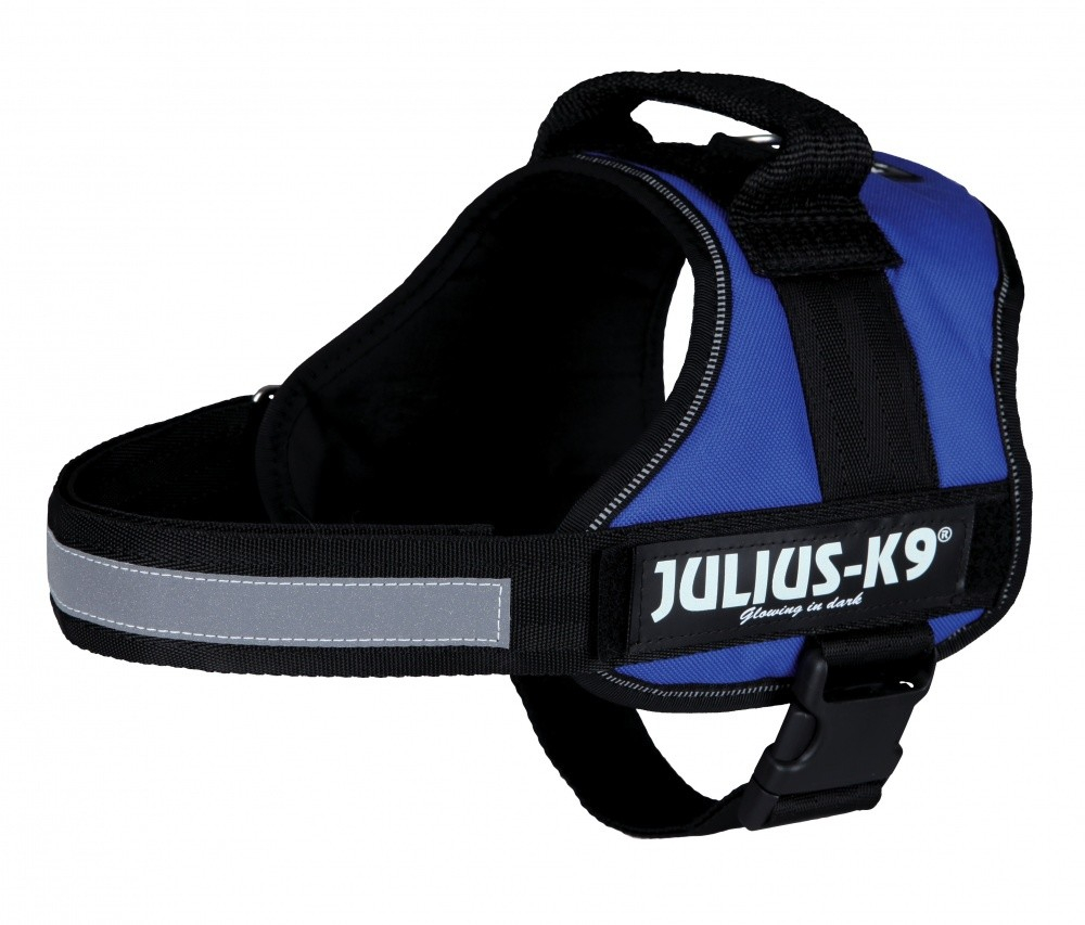 Julius K9 Power Arnês  Azul M-L