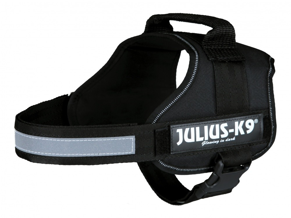 Julius K9 Power Arnês  Preto M-L