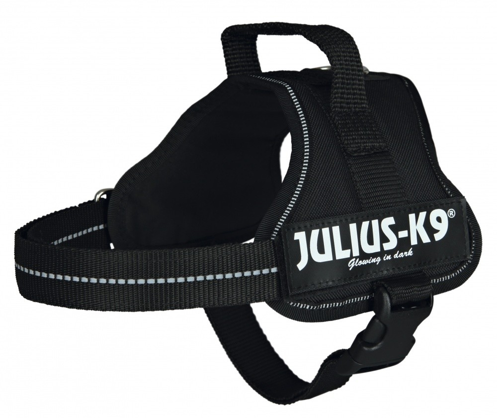 Julius K9 Powertuigje, Mini/M  Zwart M